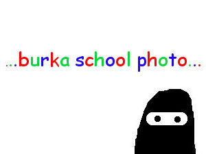 School Picture Burka Cartoon thumb