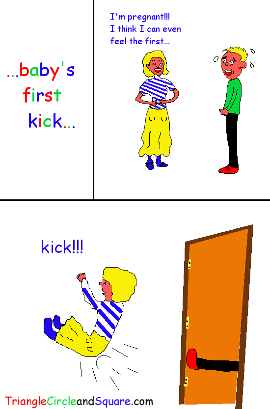 baby's first kick